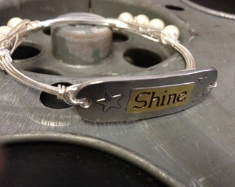 """Wire """"Shine"""" Bracelet"""