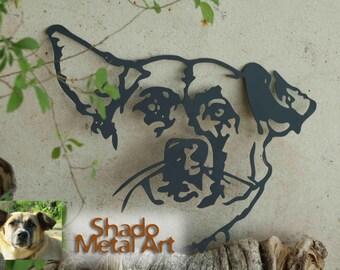 personalized pet portrait art | custom pet portrait | custom dog portrait | personalized pet gifts | custom pet art | custom dog art