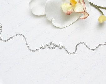 Bracelet wrist-Helia-wedding wedding-zircon-bridal jewelry-bridal bracelet-accessories wedding-French Creation