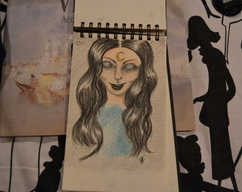 witch original painting