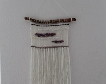 handmade weaving wallhanging