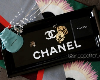 Chanel Inspired Tray