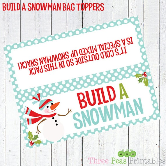 how to build a snowman book