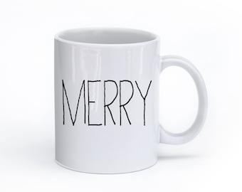 Christmas Mug – Merry Mug, Holiday Mug
