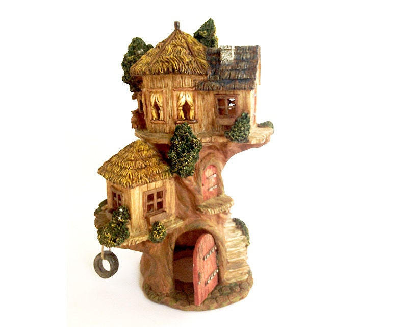 Outdoor Fairy House Large Fairy House Tri-level Miniature