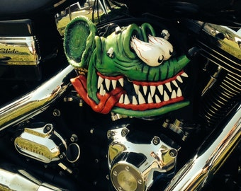 3-D Custom Motorcycle Parts Designed Just For Your Bike-All One Of A Kind