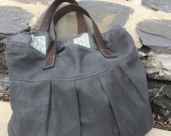 The Waxed Canvas Bag