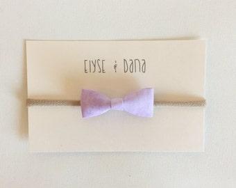 Tiny Little Bow (Violet)