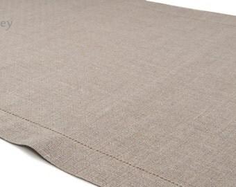 LINEN TABLE RUNNER | Free Shipping |  100% linen handmade linen table runner