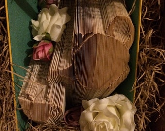Time for tea?! Book folded gift