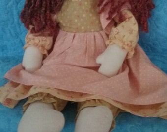 Handcrafted Rag Doll