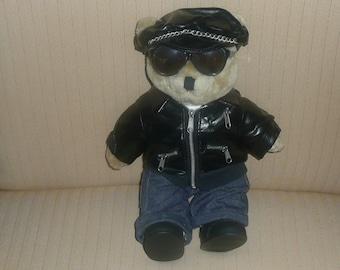 1992 Motorcycle Bear By Tender Heart Treasures LTD