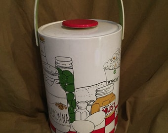 Retro Food Vinyl Ice Bucket