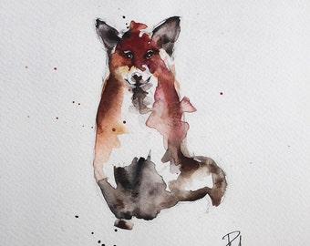 The Sitting Fox
