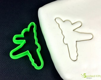 Ballet Dancer Cookie Cutter and Fondant Cutter Birthday Party Gift