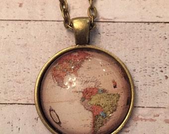 Globe Pendant Necklace