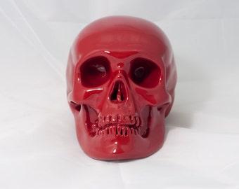The red devil skull
