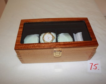 3 watch storage/ display box