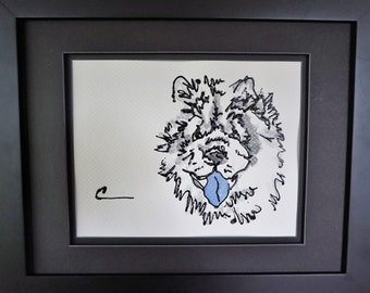 Chow Chow, Chow Chow art, Chow, Chow art, Chow Chow dog, Chow painting, Chow Dog, Chow dog art, Chow illustration, Chow artwork, Chow print