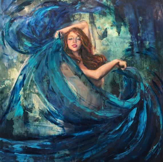 River Dancer - Fine Art Print