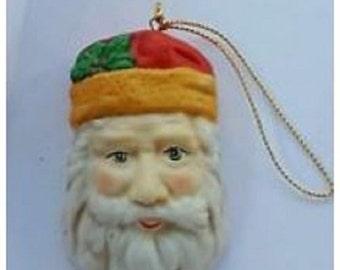 Old Santa Ornament