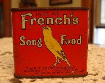 French's Song Food Tin