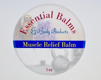 Muscle Relief Balm - 1 oz