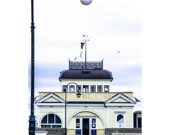 St Kilda Pier Portrait - Canvas/Decal/Vinyl/Poster