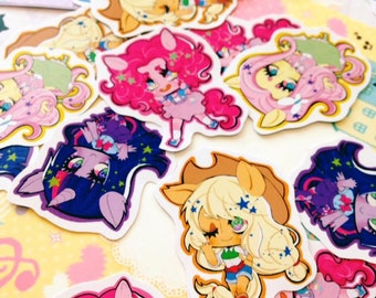 stickers: my little pony