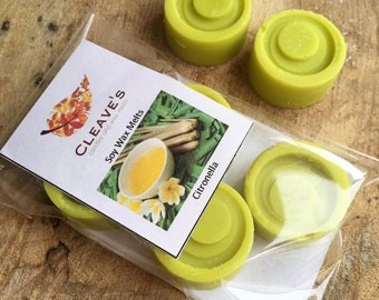 Citronella Scented Soy Wax Melts
