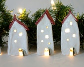 Christmas Village -- Red roof