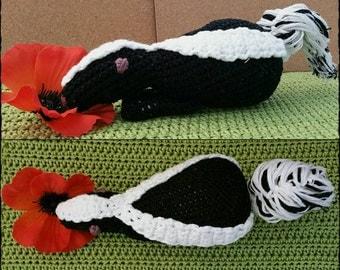 Crochet Skunk