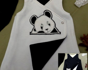 Owl/Panda Reversible Baby Jumper 0-6 Months