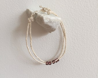Hemp Beaded Bracelets