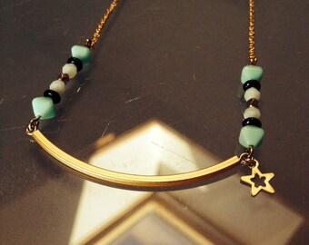 Mint Smile Necklace
