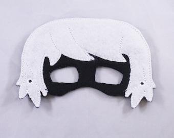 PJ Masks' Inspired Luna Girl Embroidered Mask