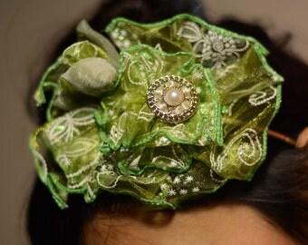 Head Turner Flower Headband