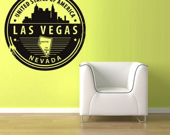 Travel Stamp Decal Etsy - Custom vinyl decals las vegas