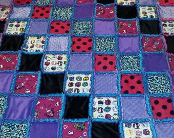 rag quilt, monster high