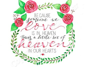 Heaven in our hearts with Roses