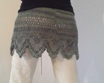 Crochet skirt, Hüftschmeichler