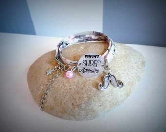 "liberty bracelet ""super godmother"""