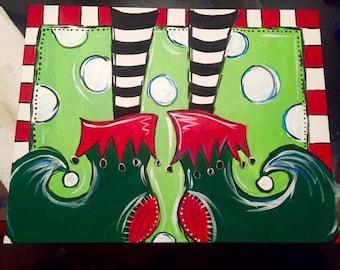 Elf Shoe Painting