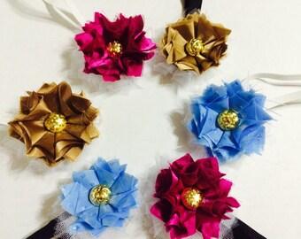 Shabby Chic Flower Babies Headband