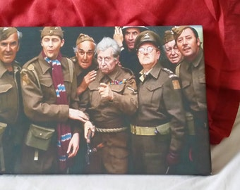 Dad's Army A4 Canvas