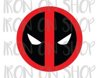 Deadpool Iron-on Transfer