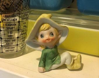 Vintage Homco Elfy Figure