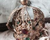 Antique Crown madonna