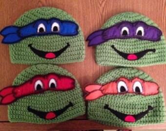 Teenage Mutant Ninja Turtle Hats