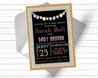 Southern Baby Shower Invitation